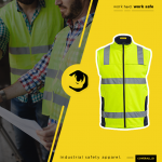 Supplier Konveksi Rompi Wearpack Safety Proyek Jakarta