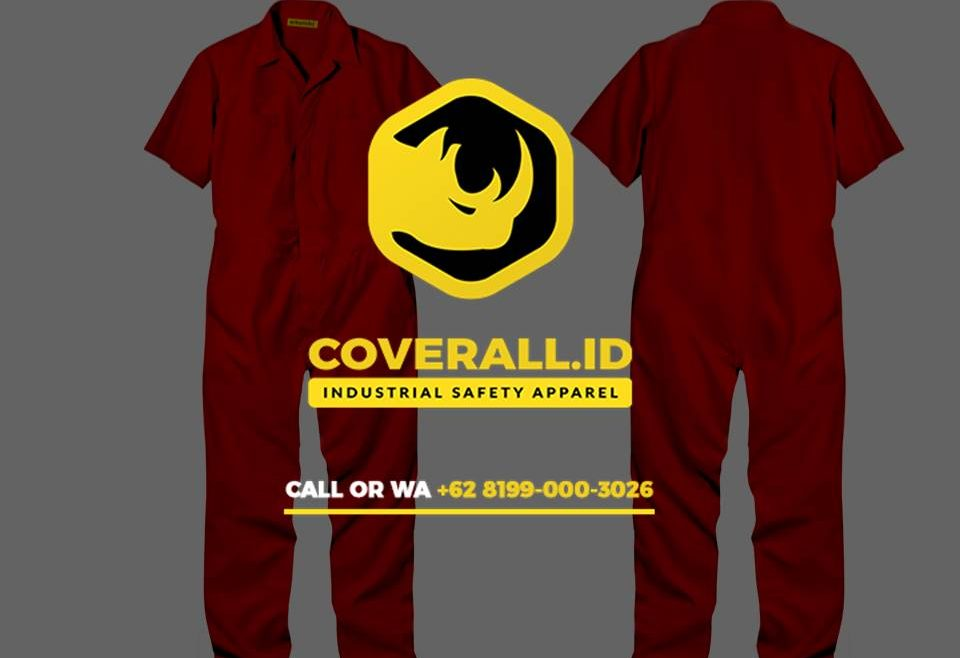 TERBAIK!! - Konveksi Baju Safety Coverall