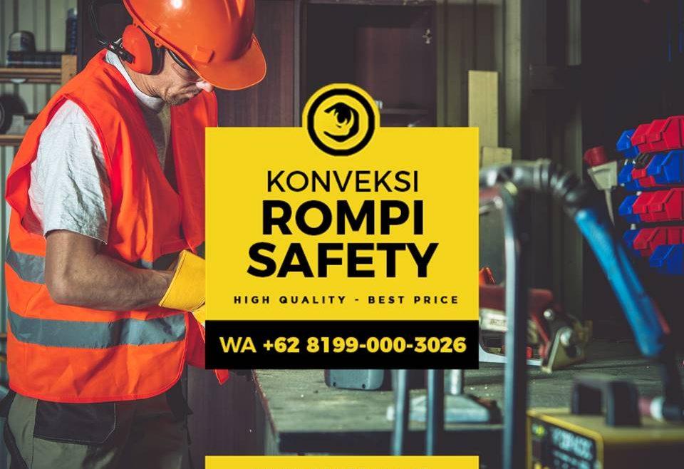 RECOMMENDED!! WA +62 8199-000-3026 - Konveksi Rompi Safety Vest Seragam Proyek Konstruksi