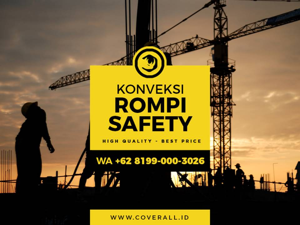 Jasa Pembuatan Rompi Safety Proyek